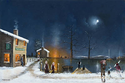 Painting - Winter Fuel by Ken Wood