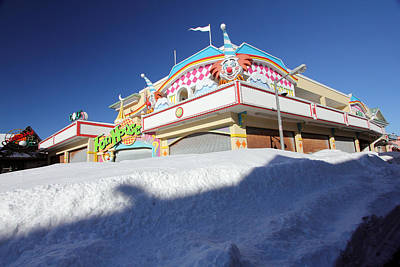 Photograph - Winter Funhouse by Mary Haber