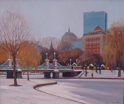 Painting - Winter Garden by Dianne Panarelli Miller