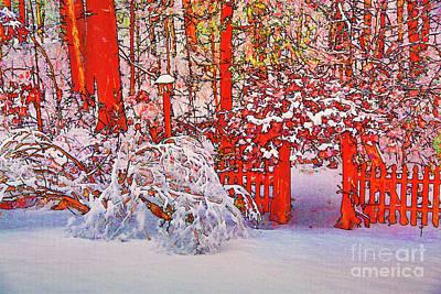 Photograph - Winter Gate by Rick Bragan