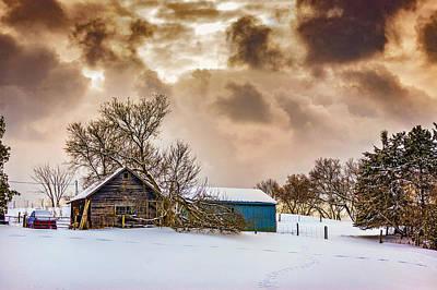 Winter Gloaming Art Print