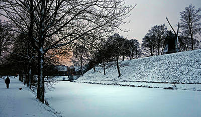 Photograph - Winter Glow - 365-286 by Inge Riis McDonald