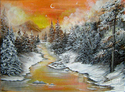 Painting - Another Cold And Windy Day  by Patrice Torrillo