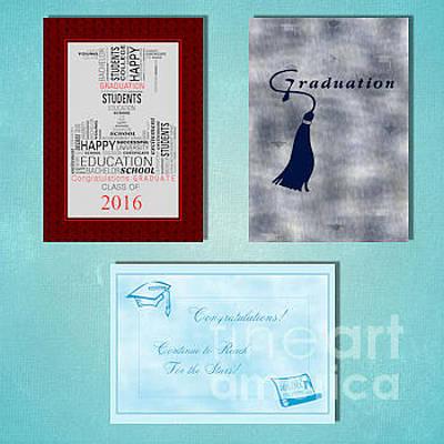 Digital Art - Winter Graduation by JH Designs