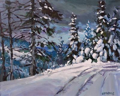 Winter Grays 2 Original by Brian Simons