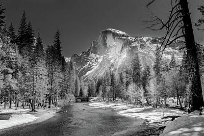 Photograph - Winter Half Dome by Constance Reid