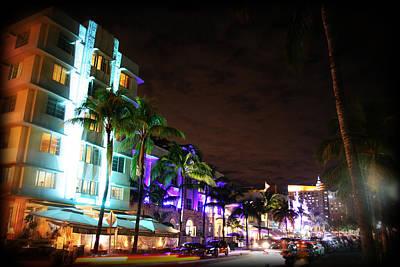 Miami Vice Photograph - Winter Haven by Ryan Burton