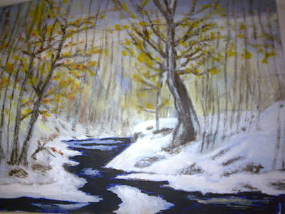 Painting - Winter  by Helen Vanterpool