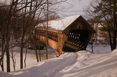 Photograph - Winter Henniker by Paul Mangold