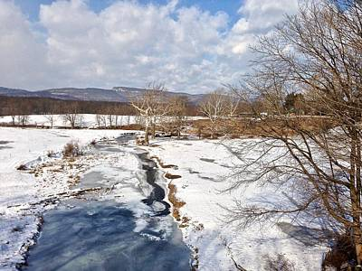 Photograph - Winter Hike by Cornelia DeDona