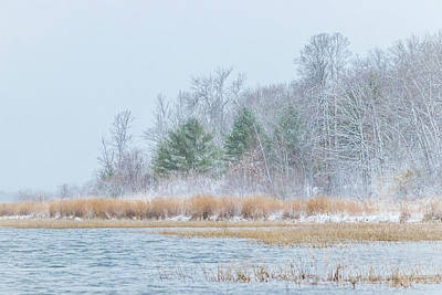 Photograph - Winter Hoarfrost On The River by Patti Deters