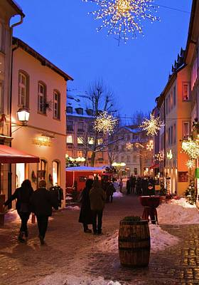Photograph - Winter Holidays In Bamberg by Tatiana Travelways