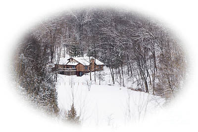 Photograph - Winter Home by Andrea Silies