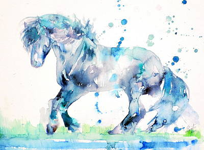 Painting - Winter Horse by Fabrizio Cassetta
