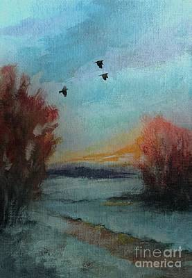 Painting - Winter Hues by Michele Carter