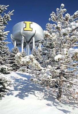 Photograph - Winter I Tower by Doug Davidson