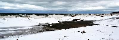 Photograph - Winter Ice On Lake Michigan 3.0 by Michelle Calkins