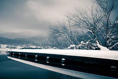 Winter Idyl Art Print by Luka Matijevec