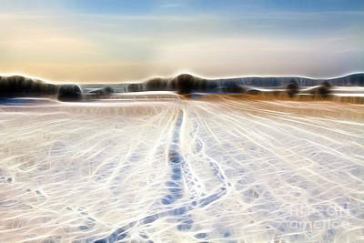 Photograph - Winter Impression by Lutz Baar
