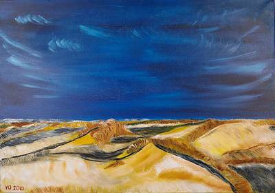 Painting - Winter Impression Of Sylt by Valerie Ornstein