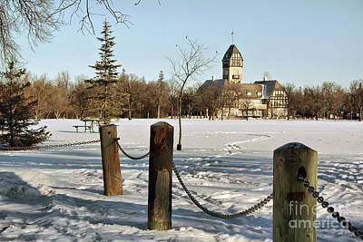 Photograph - Winter In Assiniboine Park by Teresa Zieba