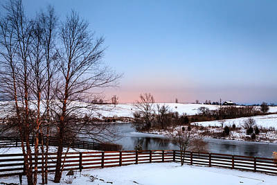 Photograph - Winter In Central Kentucky by Alexey Stiop