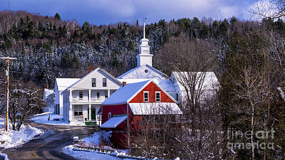 Photograph - Winter In East Topsham by Scenic Vermont Photography