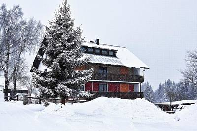 Photograph - Winter In Fleckl, Germany by Tatiana Travelways
