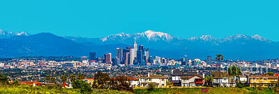 Los Angeles Skyline Photograph - Winter In Los Angeles by Art K