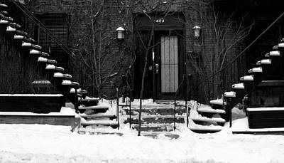 Winter In Montreal Art Print by Robert Knight