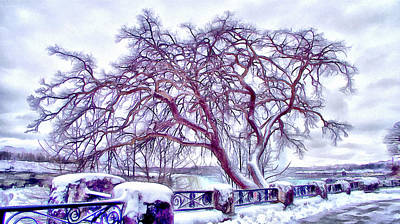 Digital Art - Winter In Niagara 2 by Leslie Montgomery