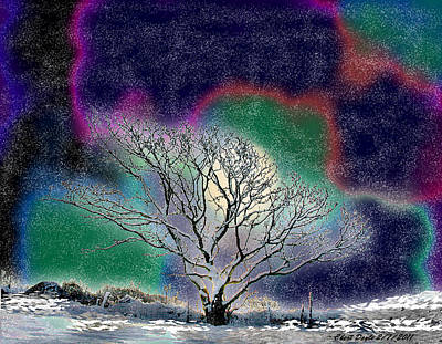 Winter In Oklahoma 2011 Art Print