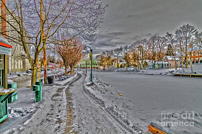 Photograph - Winter In Pittsford by William Norton