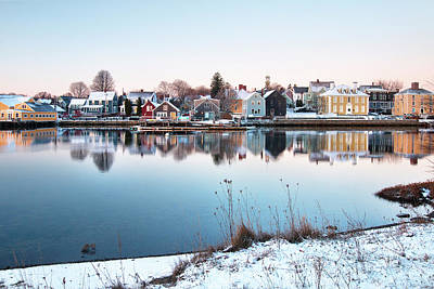 Winter In Portsmouth Art Print