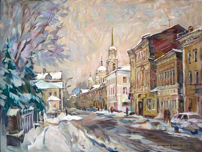 Winter In Rybinsk Original by Nikolay Malafeev