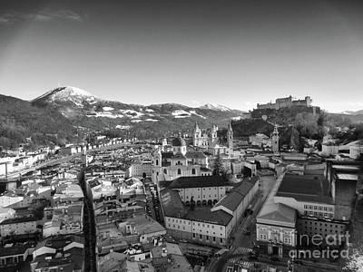 Photograph - winter in Salzburg Austria 1 by Rudi Prott