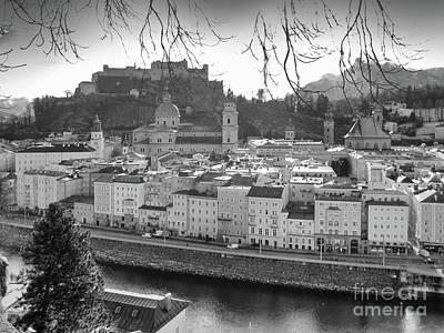 Photograph - winter in Salzburg Austria 2 by Rudi Prott