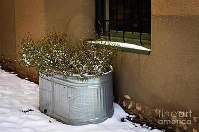 Photograph - Winter In Santa Fe by Jon Burch Photography