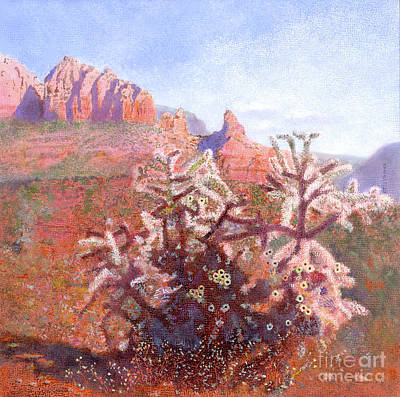 Painting - Winter In Sedona, Arizona by Nancy Lee Moran