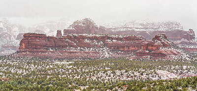 Photograph - Winter In Sedona by Racheal Christian