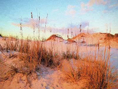Photograph - Winter In South Walton by Cathy Findley