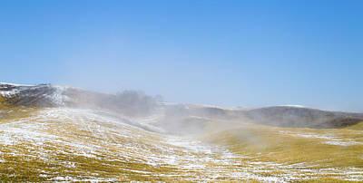 Foggy Day Photograph - winter in spring II by Hyuntae Kim