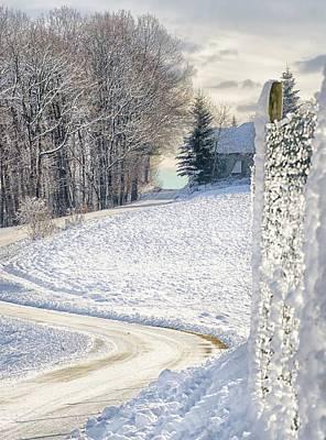 Styria Photograph - Winter In Styria  by Monika Cristina Juhasz