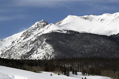 Summit County Colorado Photograph - Winter In Summit County Colorado by Brendan Reals