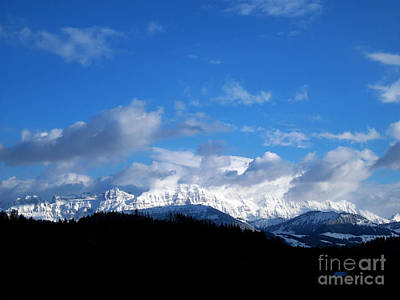 Photograph - Winter In Switzerland - A Lot Of New Snow by Susanne Van Hulst