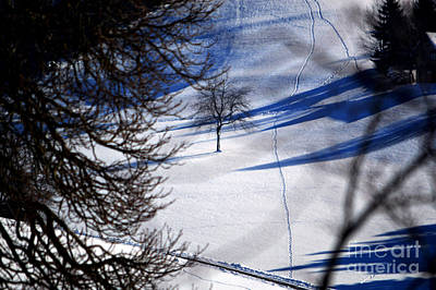 Photograph - Winter In Switzerland - Snowy Hills by Susanne Van Hulst