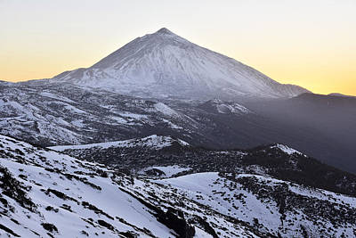 Photograph - Winter In Teide National Park  by Marek Stepan