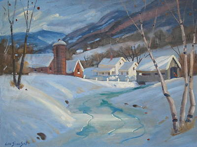 Winter In The Hoosac Valley Original