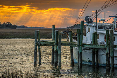 Photograph - Winter In The Lowcountry  by Donnie Whitaker