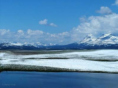 Stellar Interstellar - Winter In The Mountains  by Tracey Vivar